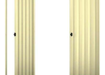 Porta Sanfonada Bege