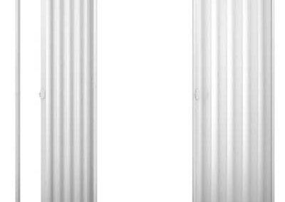 Porta Sanfonada Branca