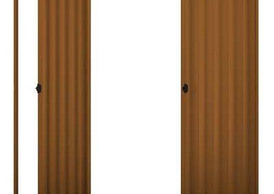 Porta Sanfonada Mogno